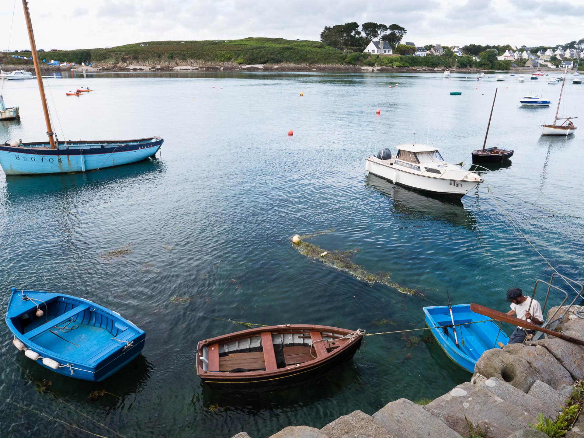 le conquet kermorvan pêcheurs - Les globe blogueurs - blog voyage nature