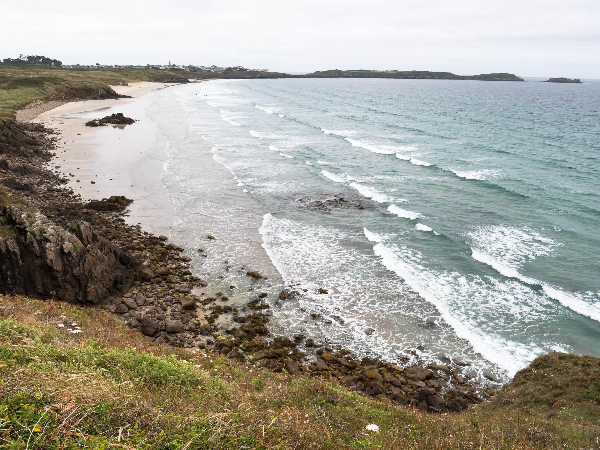 blanc sablon plage - Les globe blogueurs - blog voyage nature