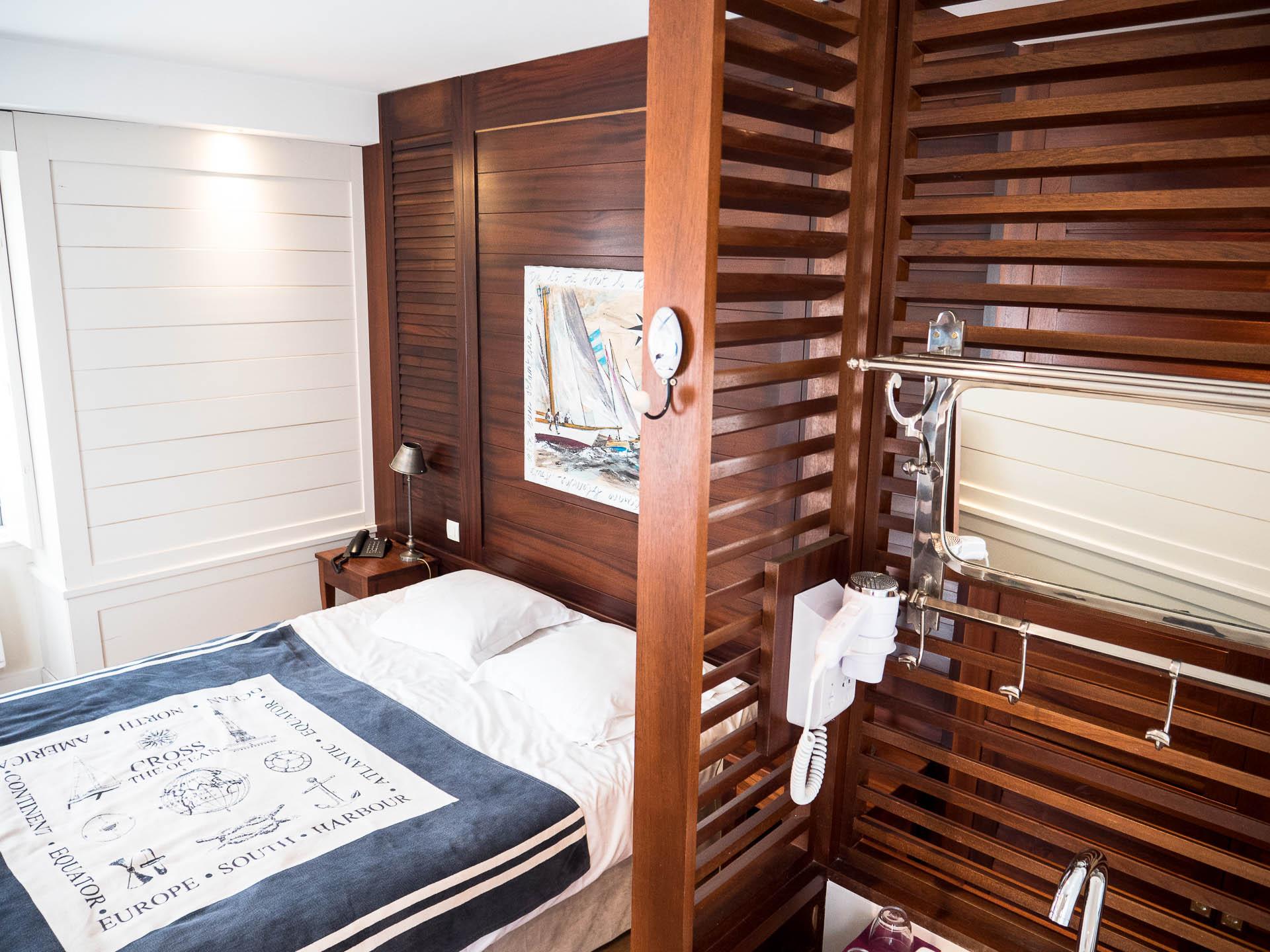 le conquet chambre hotel 2 ter - Les globe blogueurs - blog voyage nature