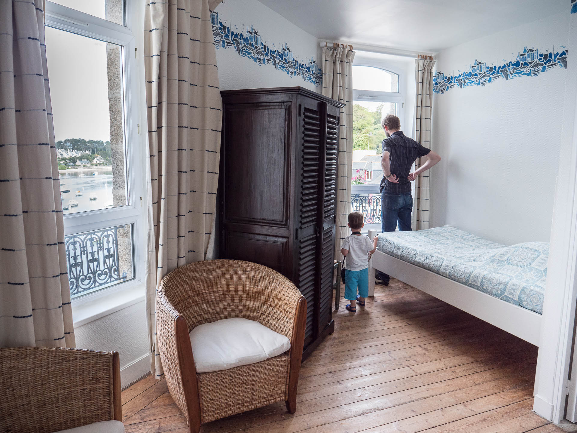 le conquet chambre hotel - Les globe blogueurs - blog voyage nature