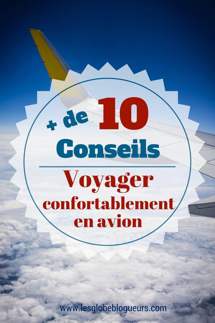 Conseils et astuces pour voyager confortablement en avion