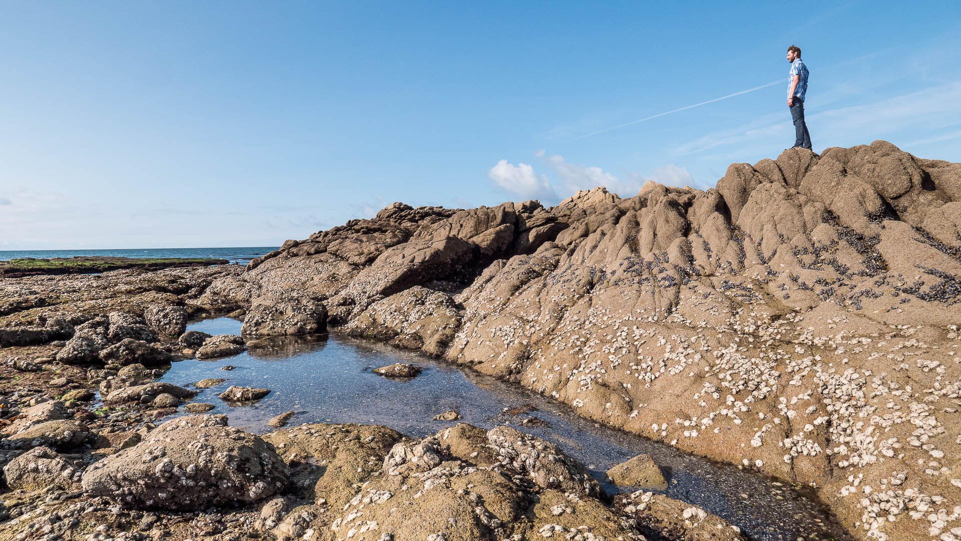 Piriac castelli roche paysage seb - Les globe blogueurs - blog voyage nature