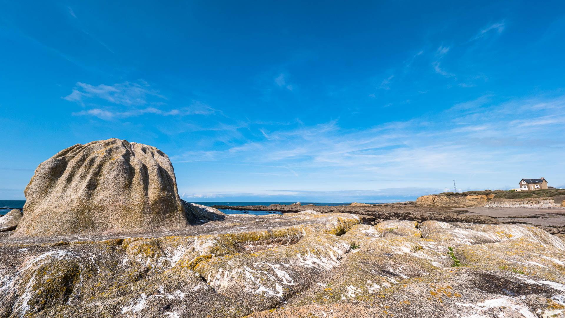 Piriac plage mine almanzor - Les globe blogueurs - blog voyage nature