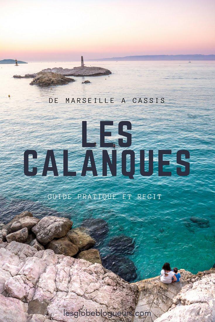 couv calanques - Les globe blogueurs - blog voyage nature