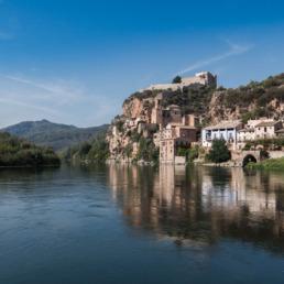 château de Miravet en Catalogne