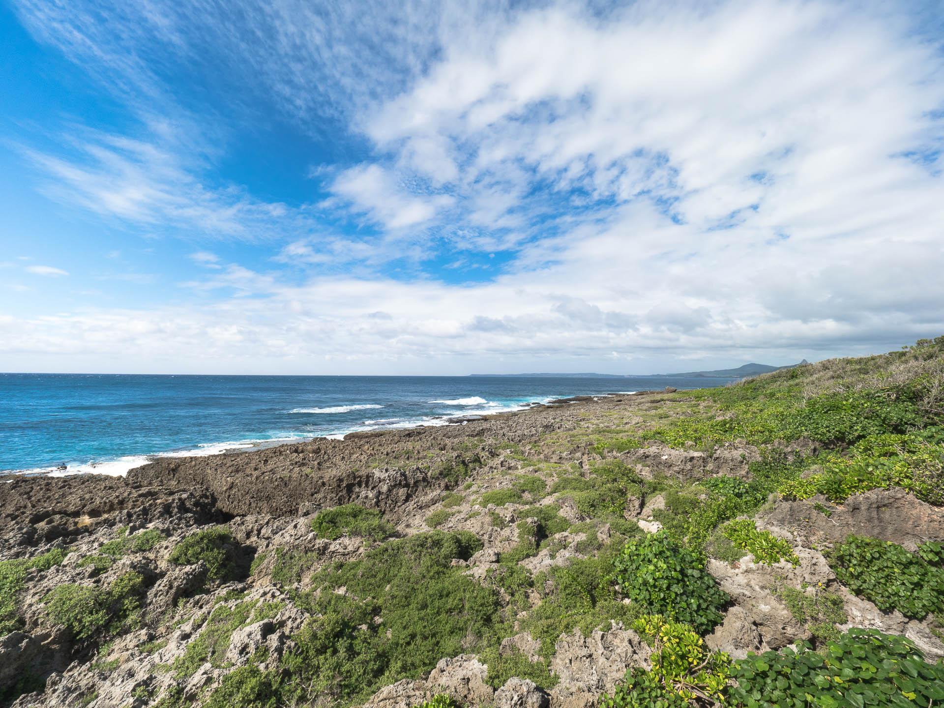 Eluanbi plage corail panorama - Les globe blogueurs - blog voyage nature