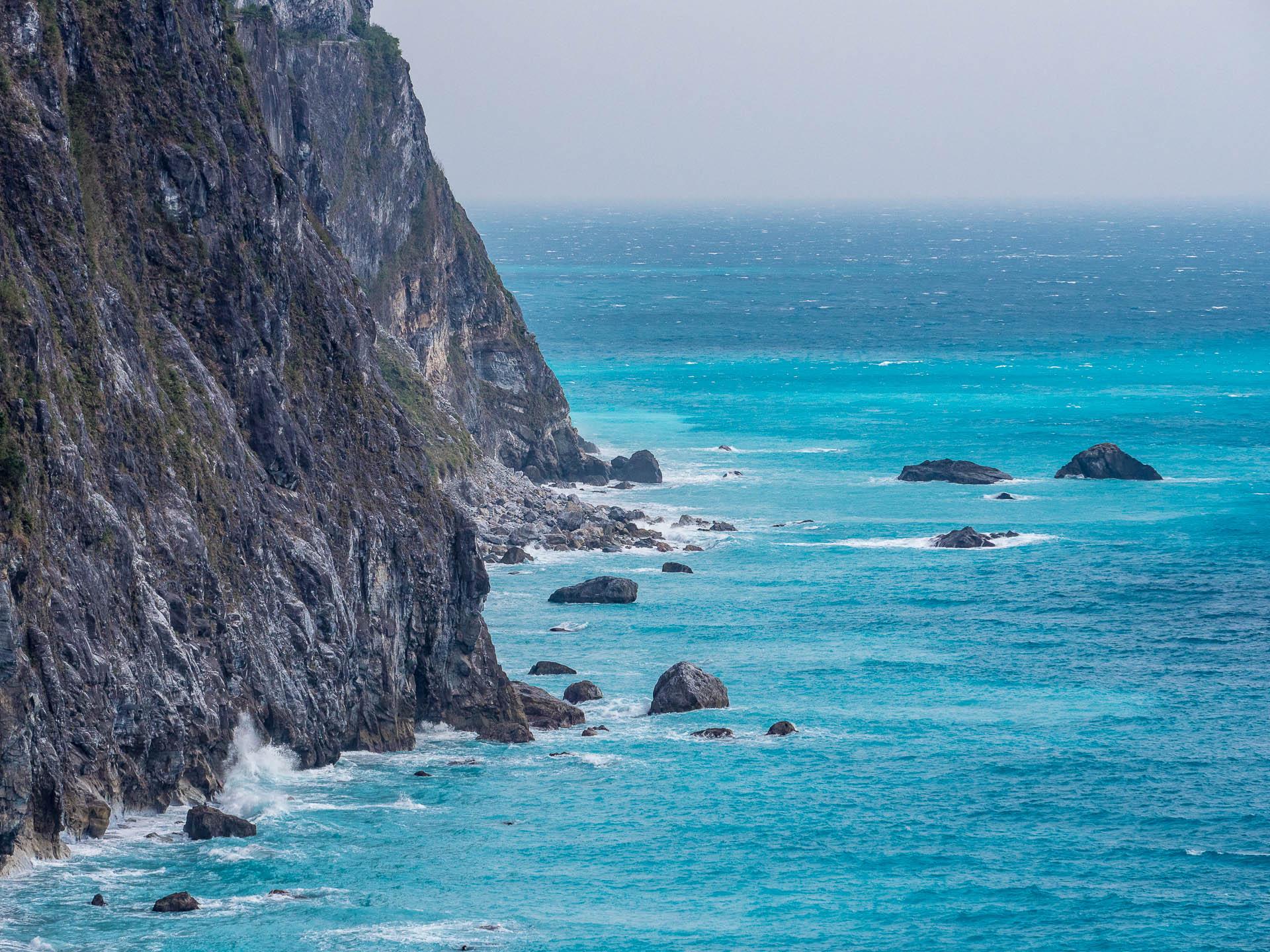 Falaises détail bis - Les globe blogueurs - blog voyage nature