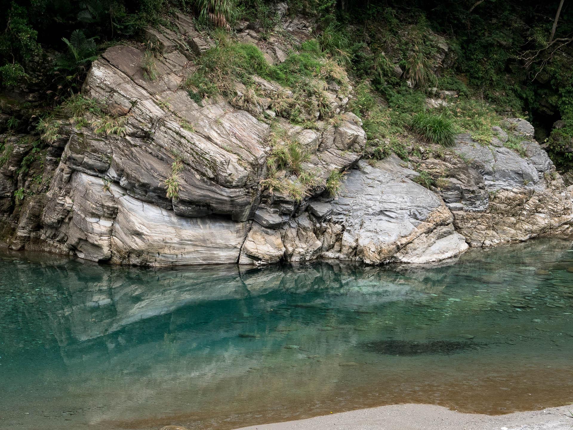 Taroko marbre détail - Les globe blogueurs - blog voyage nature