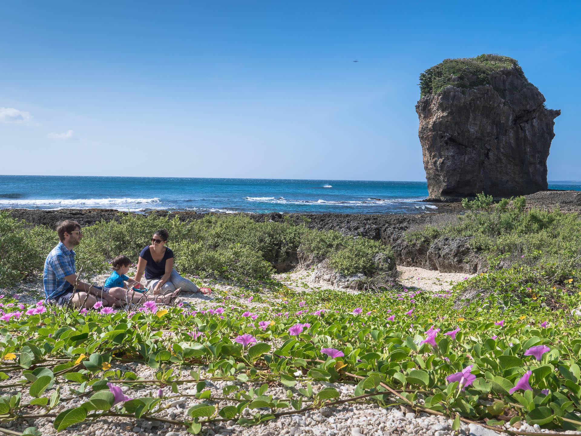 sail rock corail famille - Les globe blogueurs - blog voyage nature
