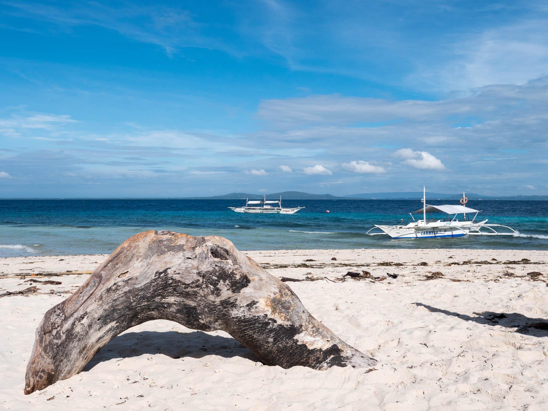 Pamilacan plage - Les globe blogueurs - blog voyage nature