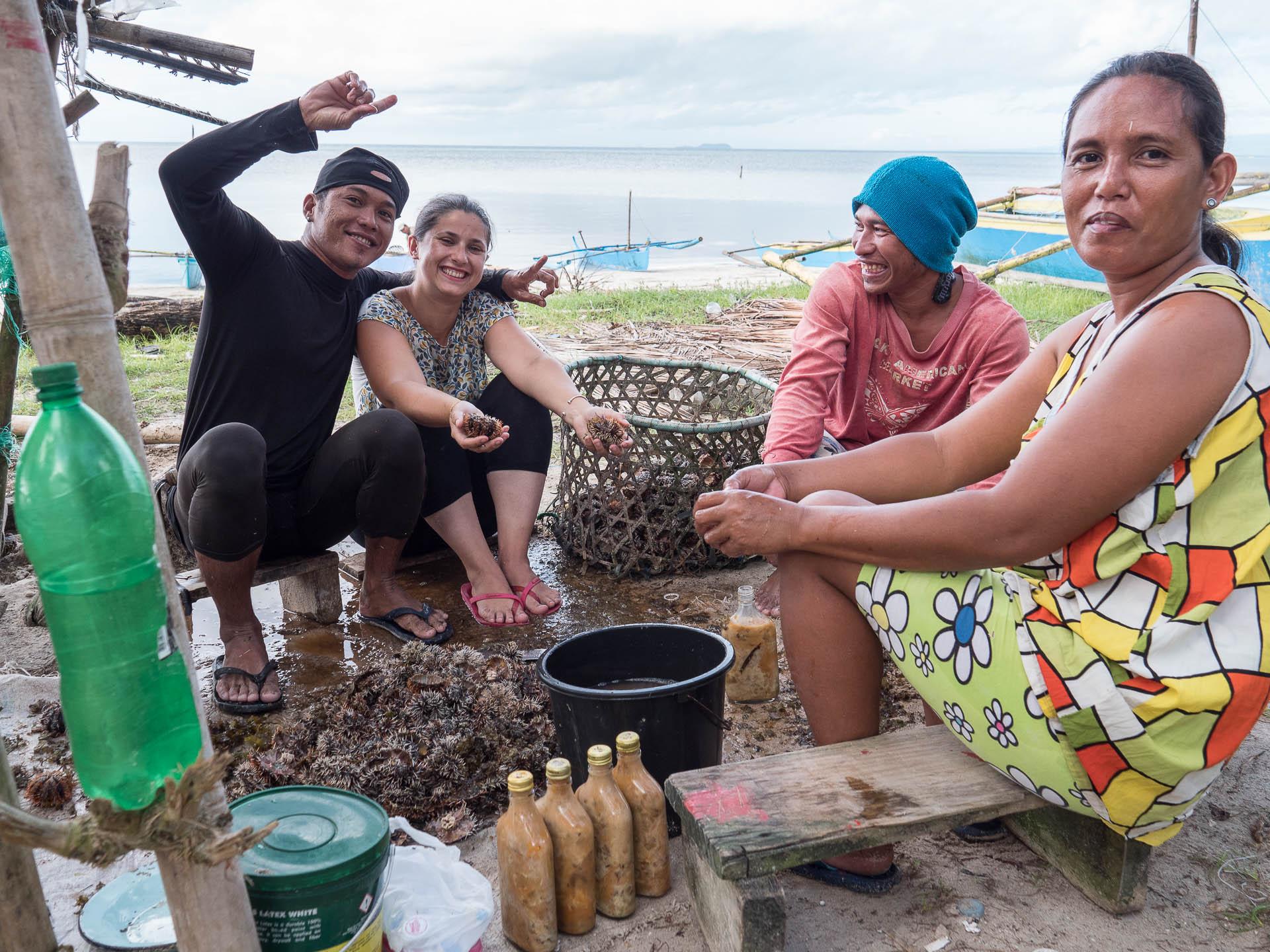 Siquihor famille pêcheur laura