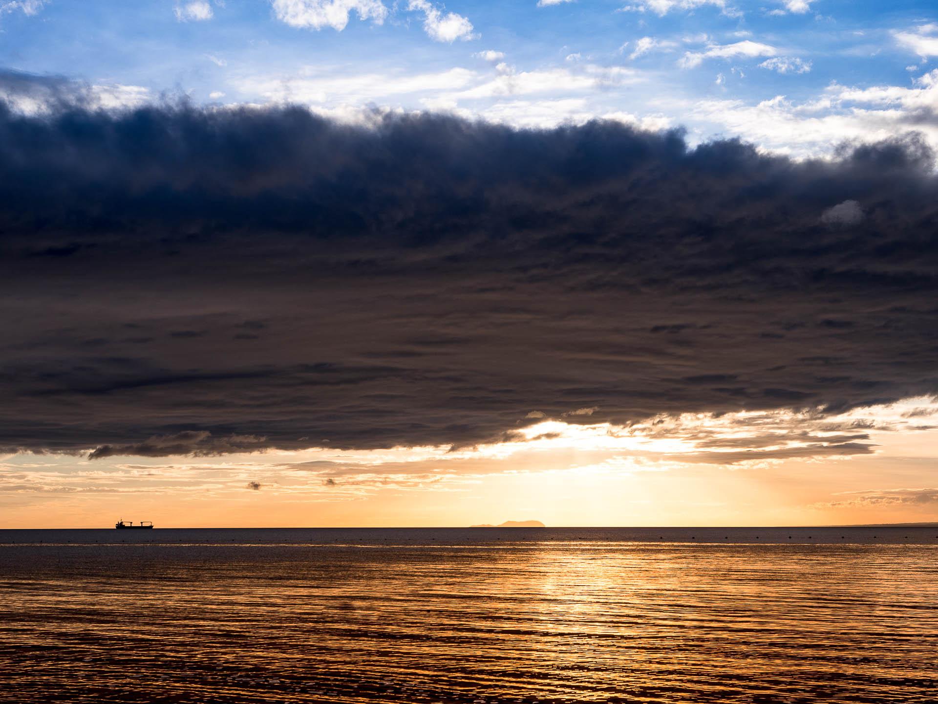 Siquihor paliton sunset nuage