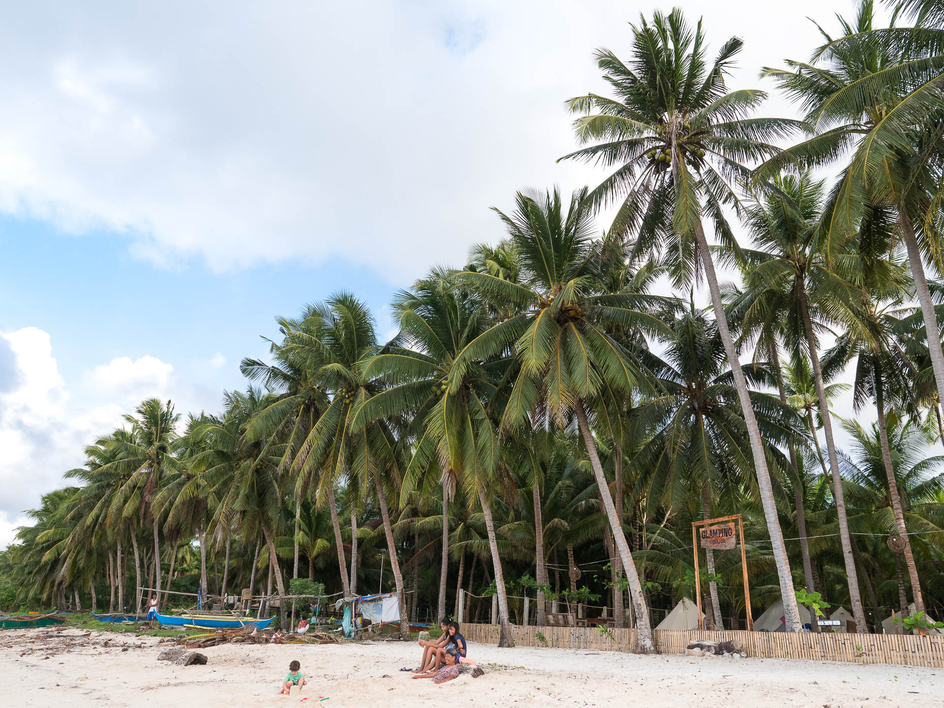 Siquijor camping plage