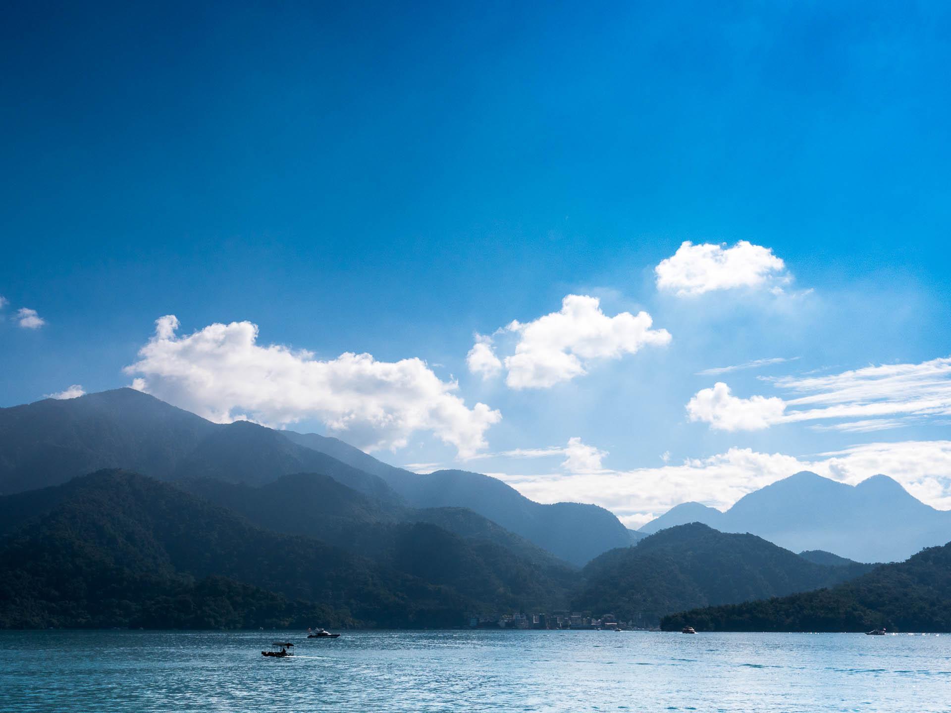 Sun moon lake montagnes - Les globe blogueurs - blog voyage nature