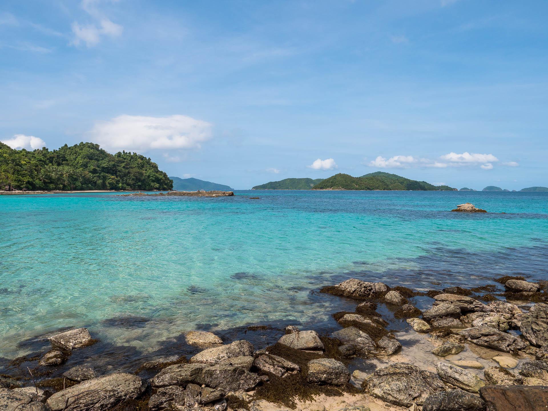 Port barton plage vue - Les globe blogueurs - blog voyage nature