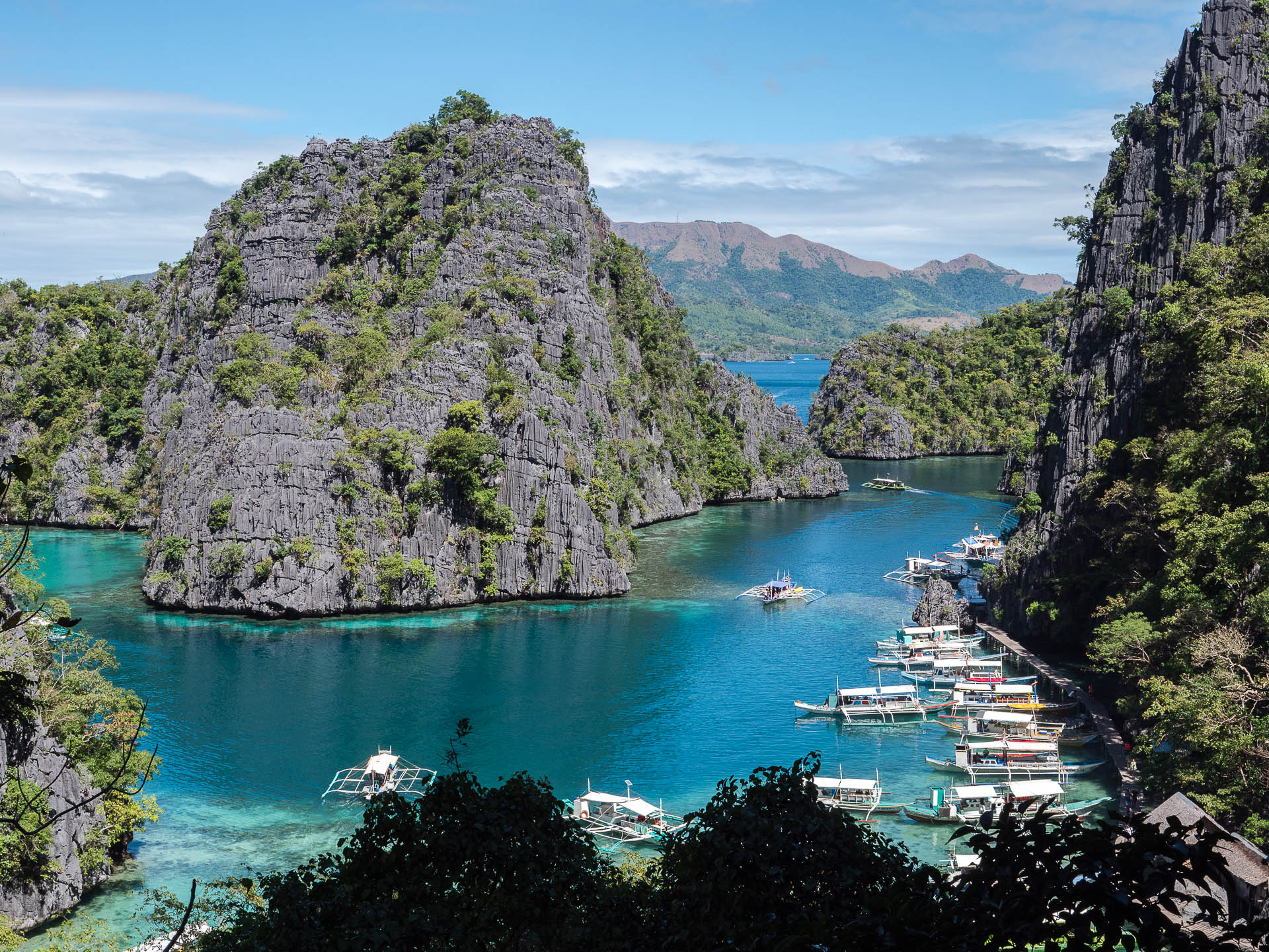 Coron lac kayangan - Les globe blogueurs - blog voyage nature