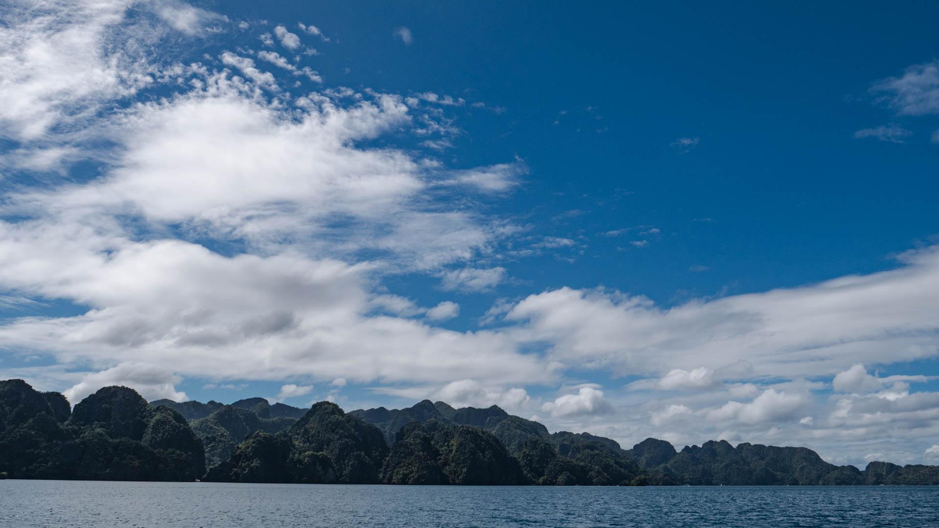 Coron pano - Les globe blogueurs - blog voyage nature