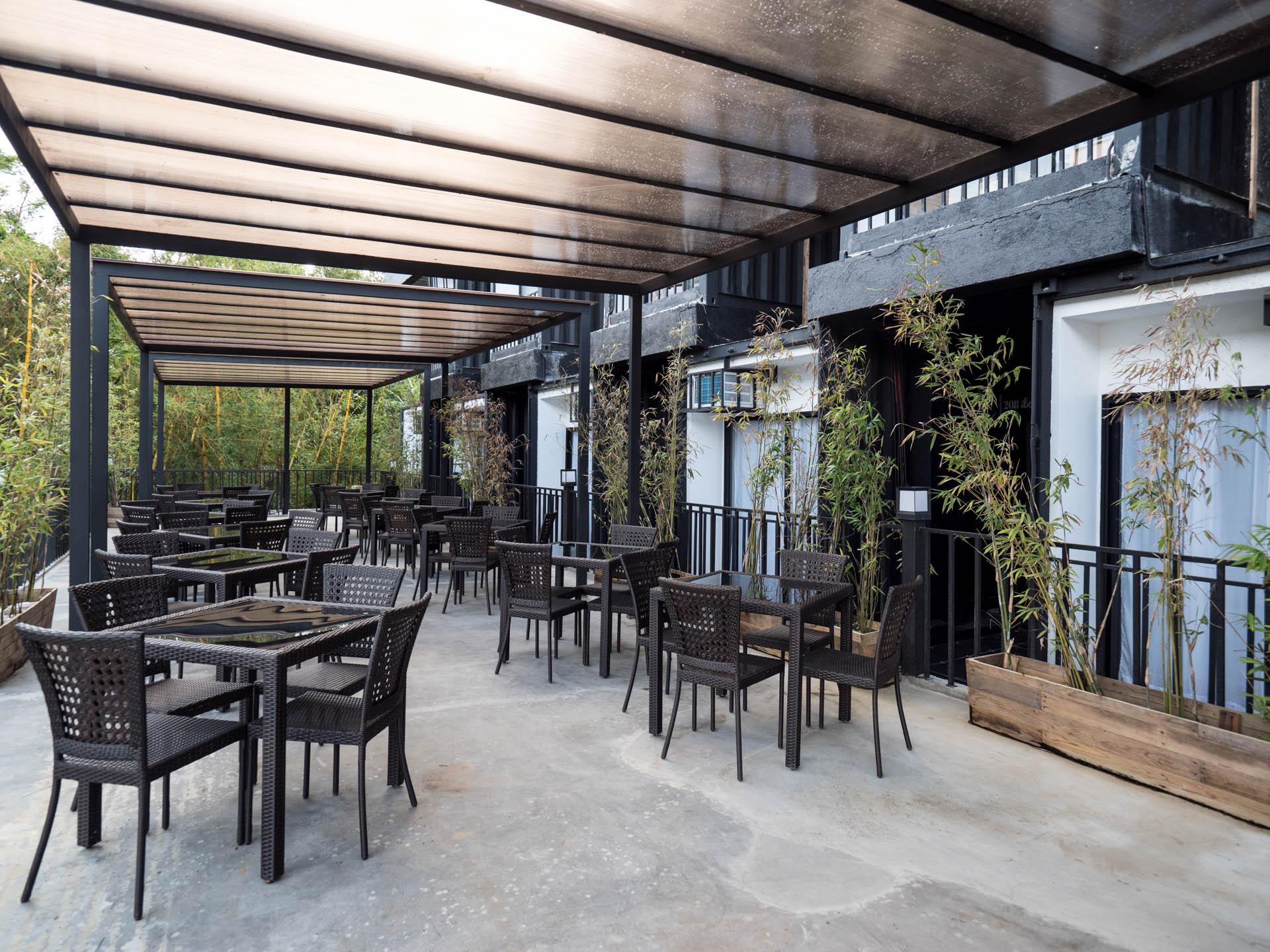 Tagaytay eco hotel salle à manger - Les globe blogueurs - blog voyage nature