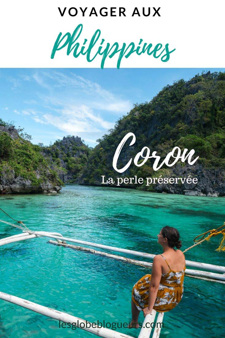 coron - Les globe blogueurs - blog voyage nature