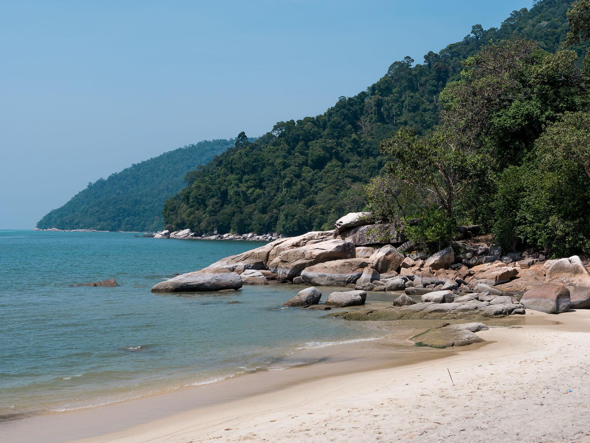 Penang parc naturel plage bis - Les globe blogueurs - blog voyage nature