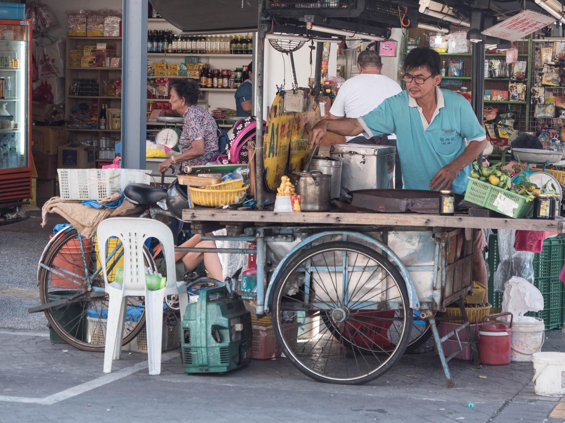 Stand de street food