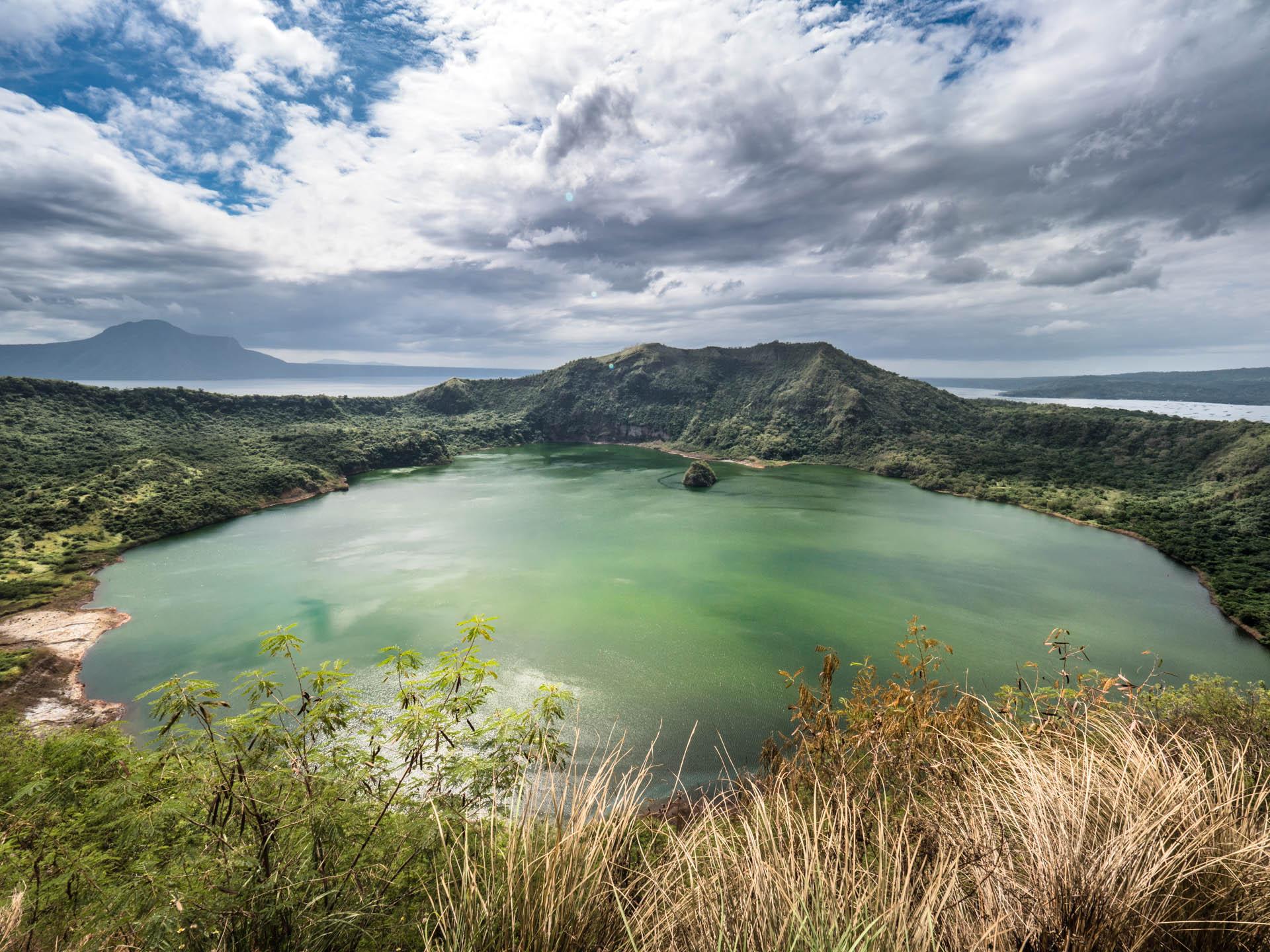 tagaytay cratere - Les globe blogueurs - blog voyage nature
