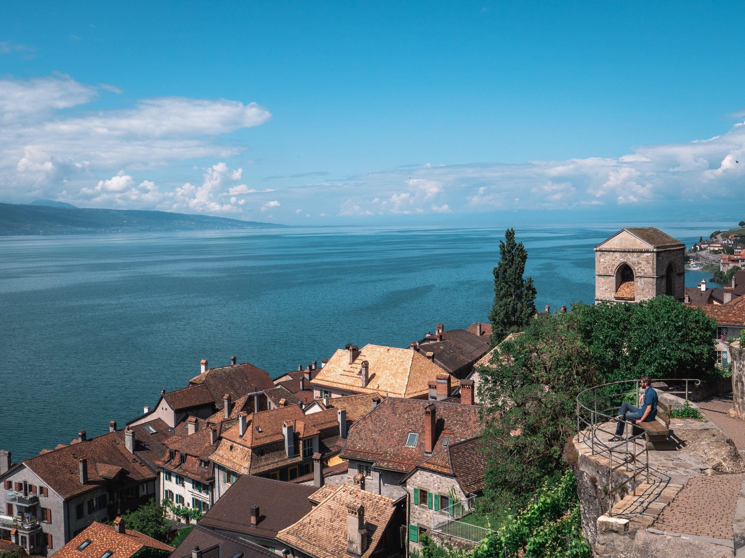Village de saint saphorin - terrasses de lavaux