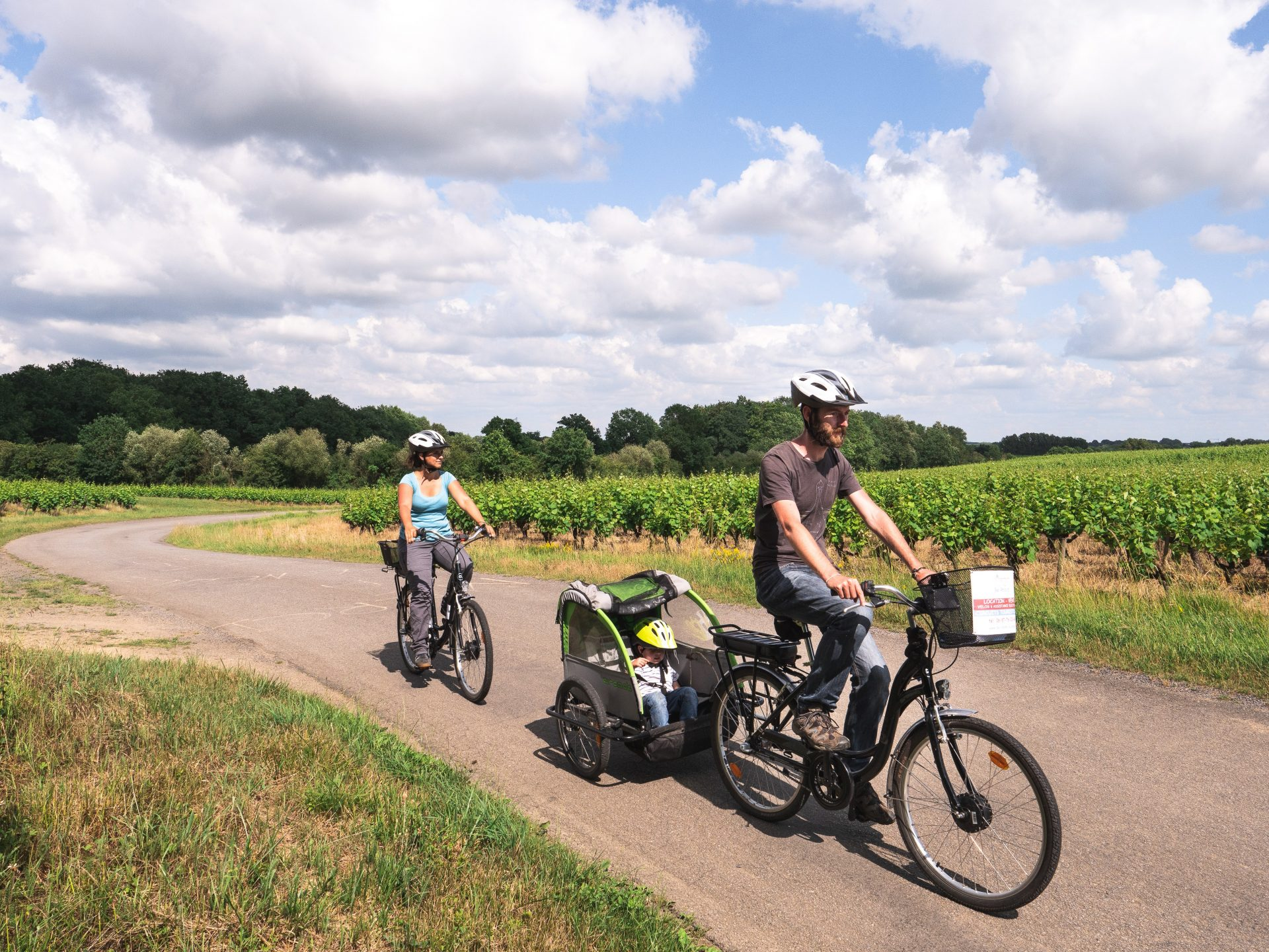 boucle à vélo dans le vignoble nantais - entre sèvre et marais