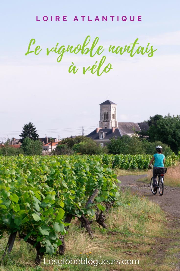 loire vignoble vélo - Les globe blogueurs - blog voyage nature