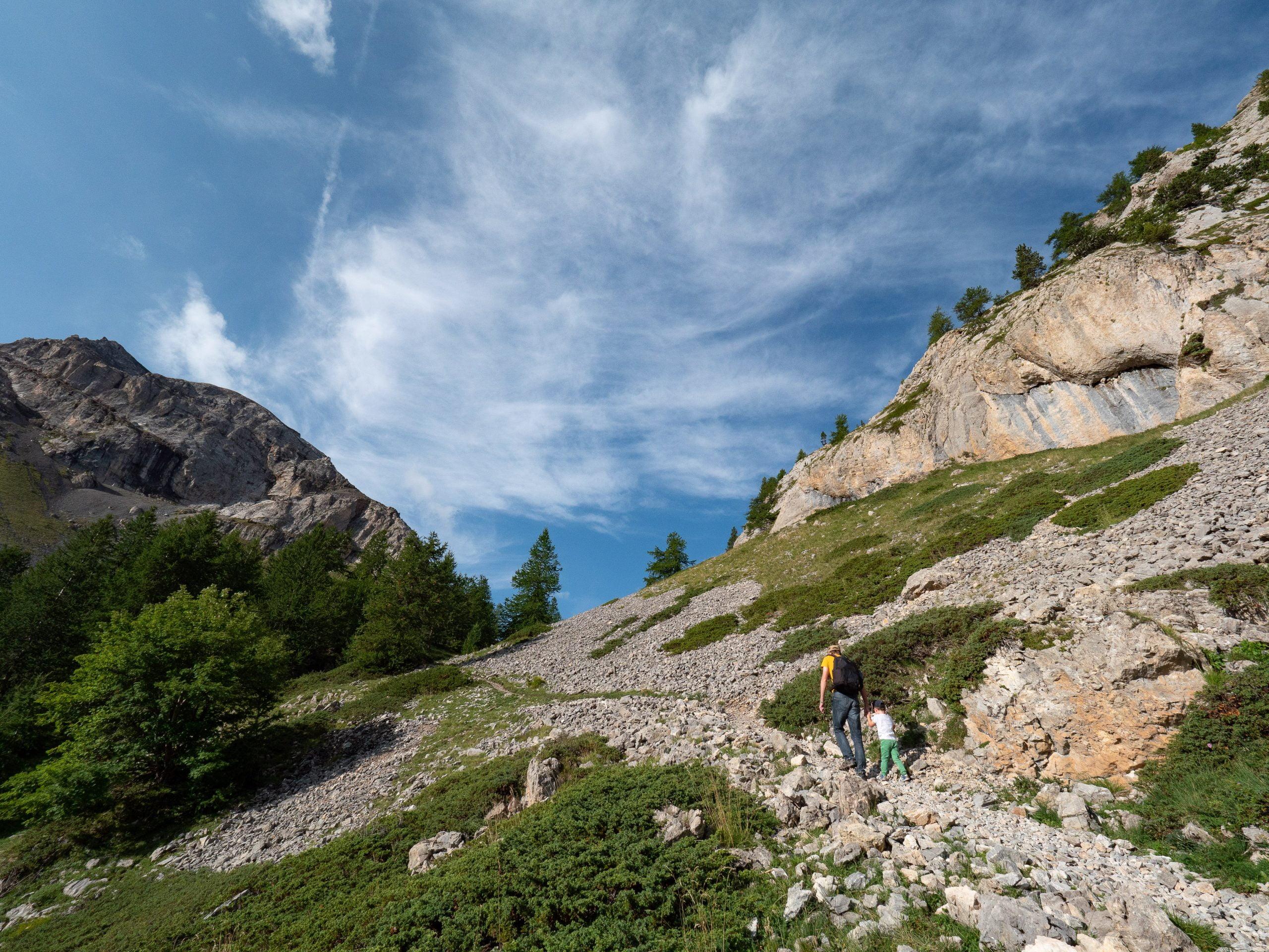 Clapeyto chemin alpage