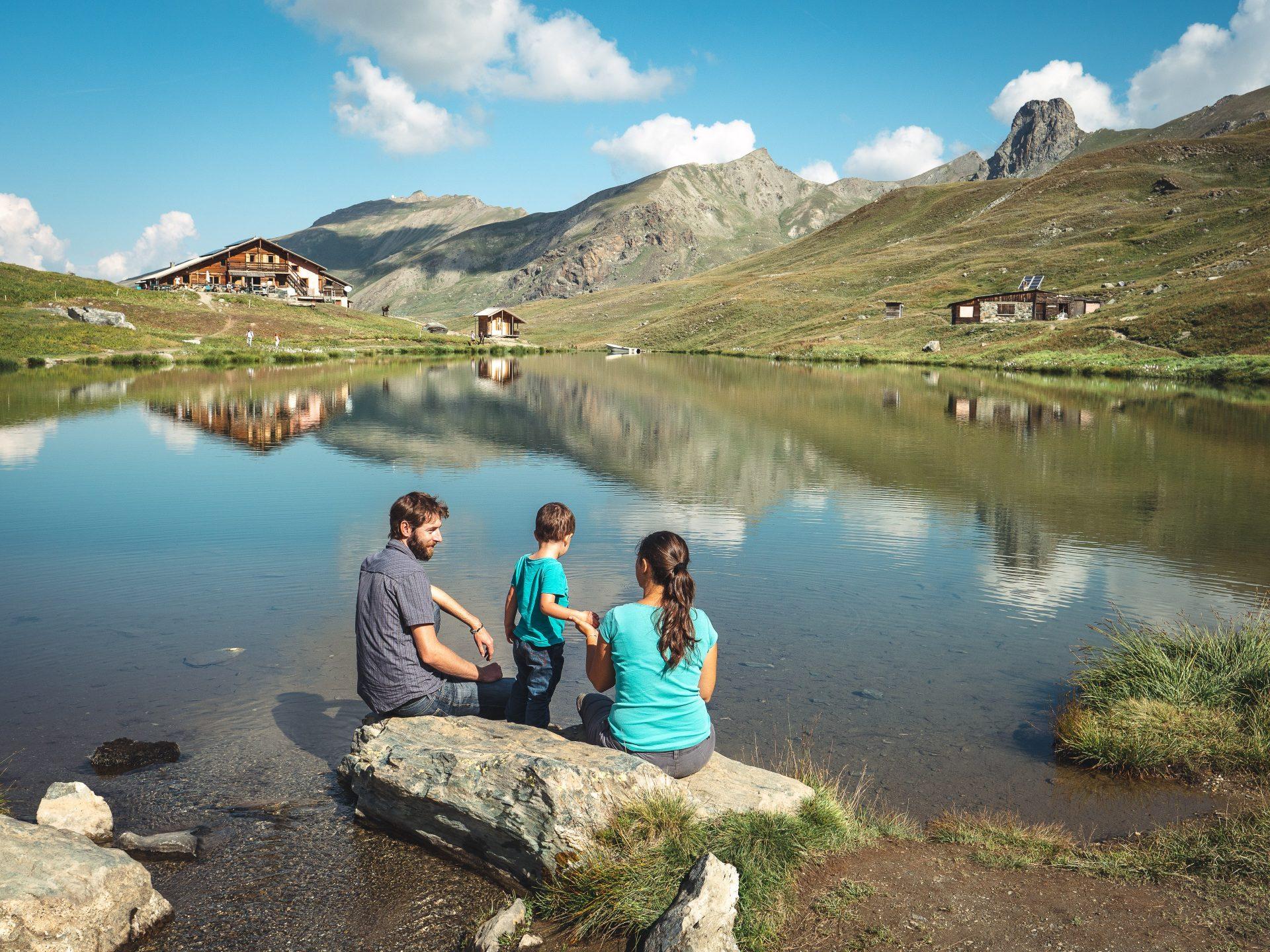 visite et randonnée dans le Queyras vacances à la montagne en été