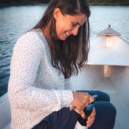Apéro canot en Gaspésie