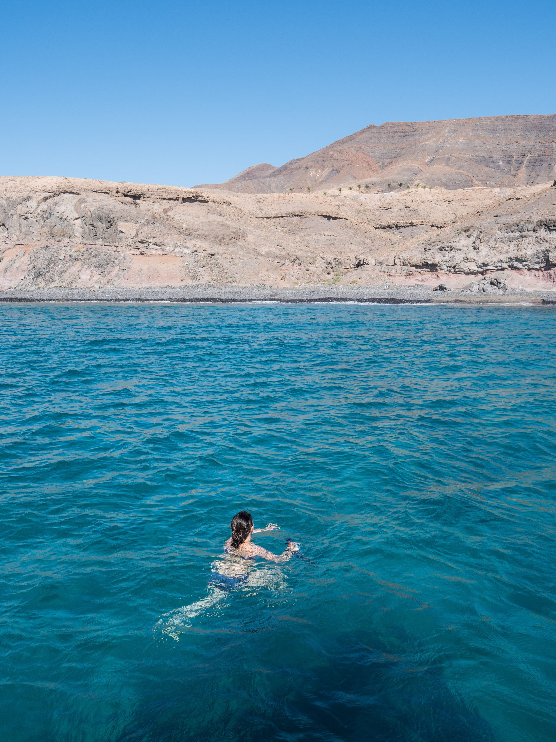 Plage à Morro jable, Fuerteventura