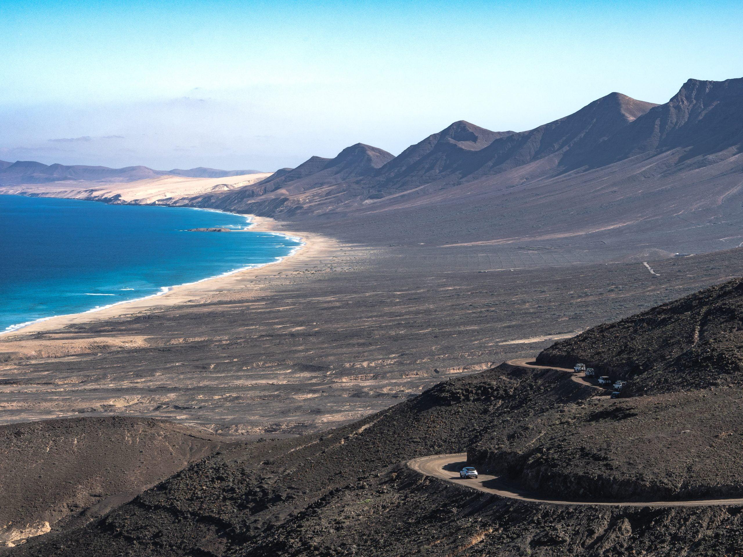 plage de Cofete Fuerteventura