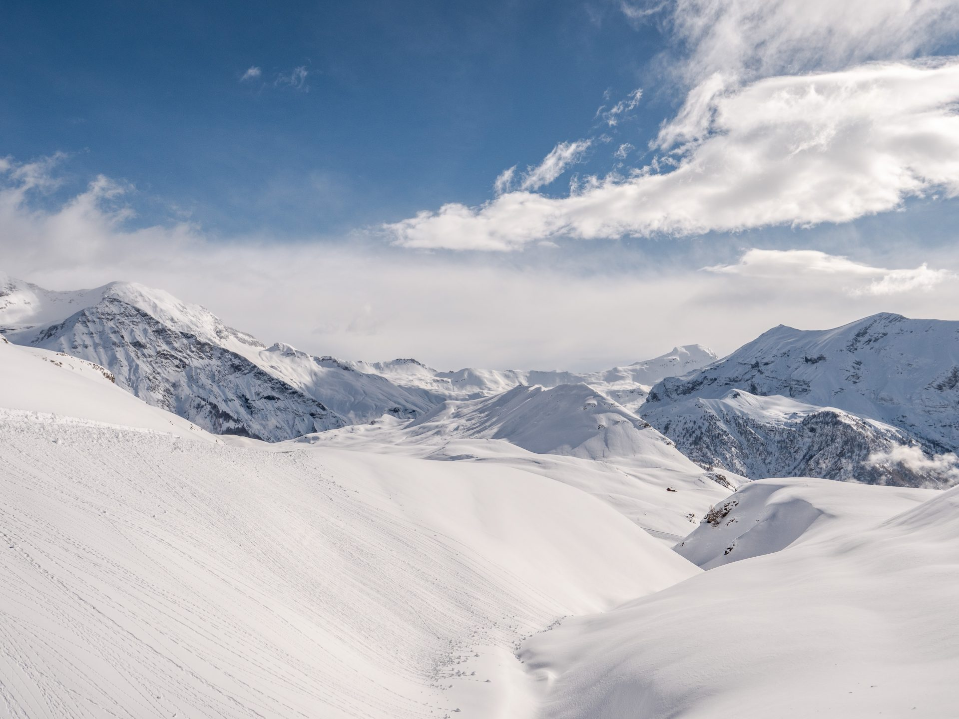 Orcières merlette 1850 - sation de ski des Hautes Alpes