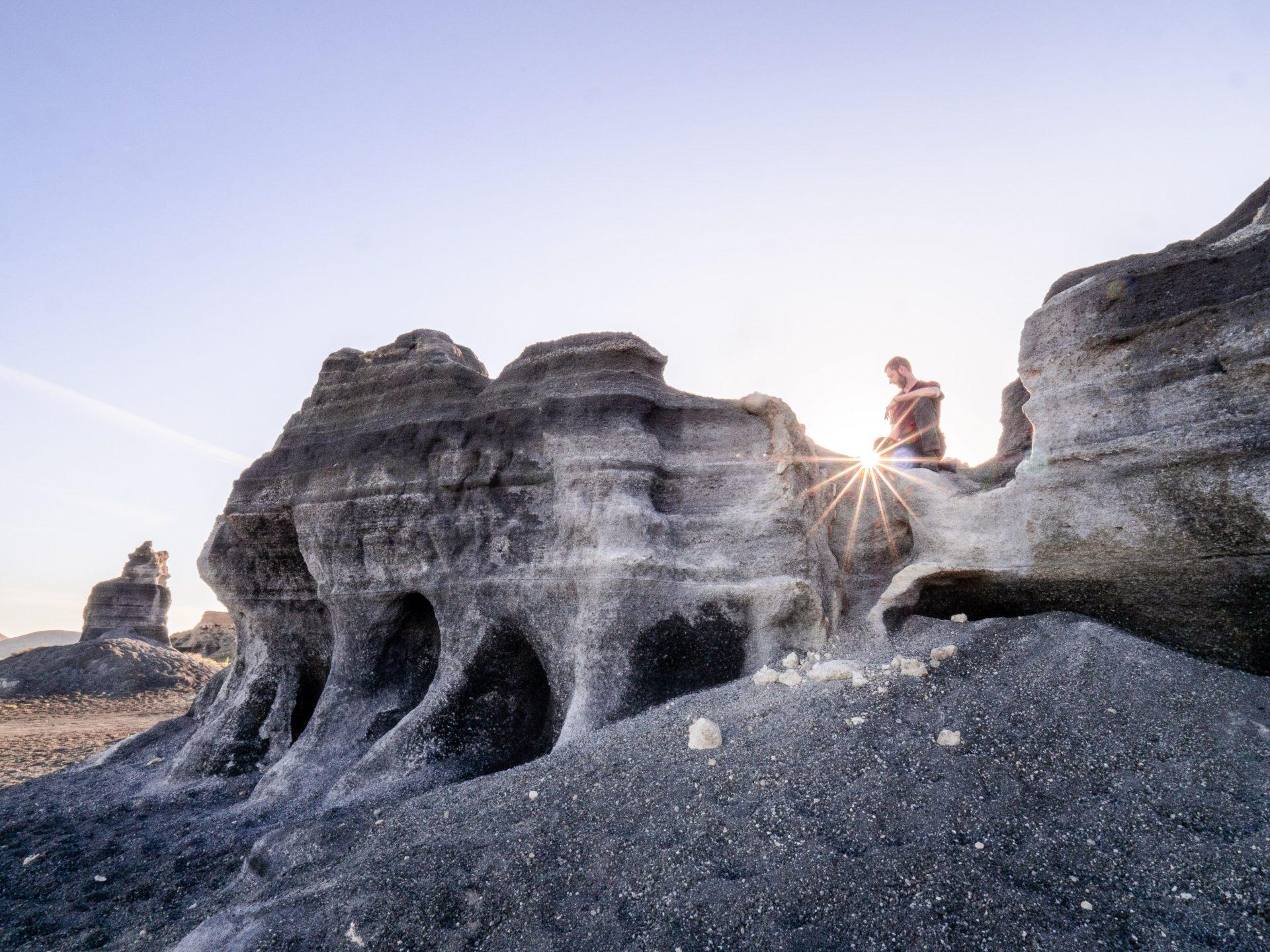 Lanzarote formation géologique - Les globe blogueurs - blog voyage nature