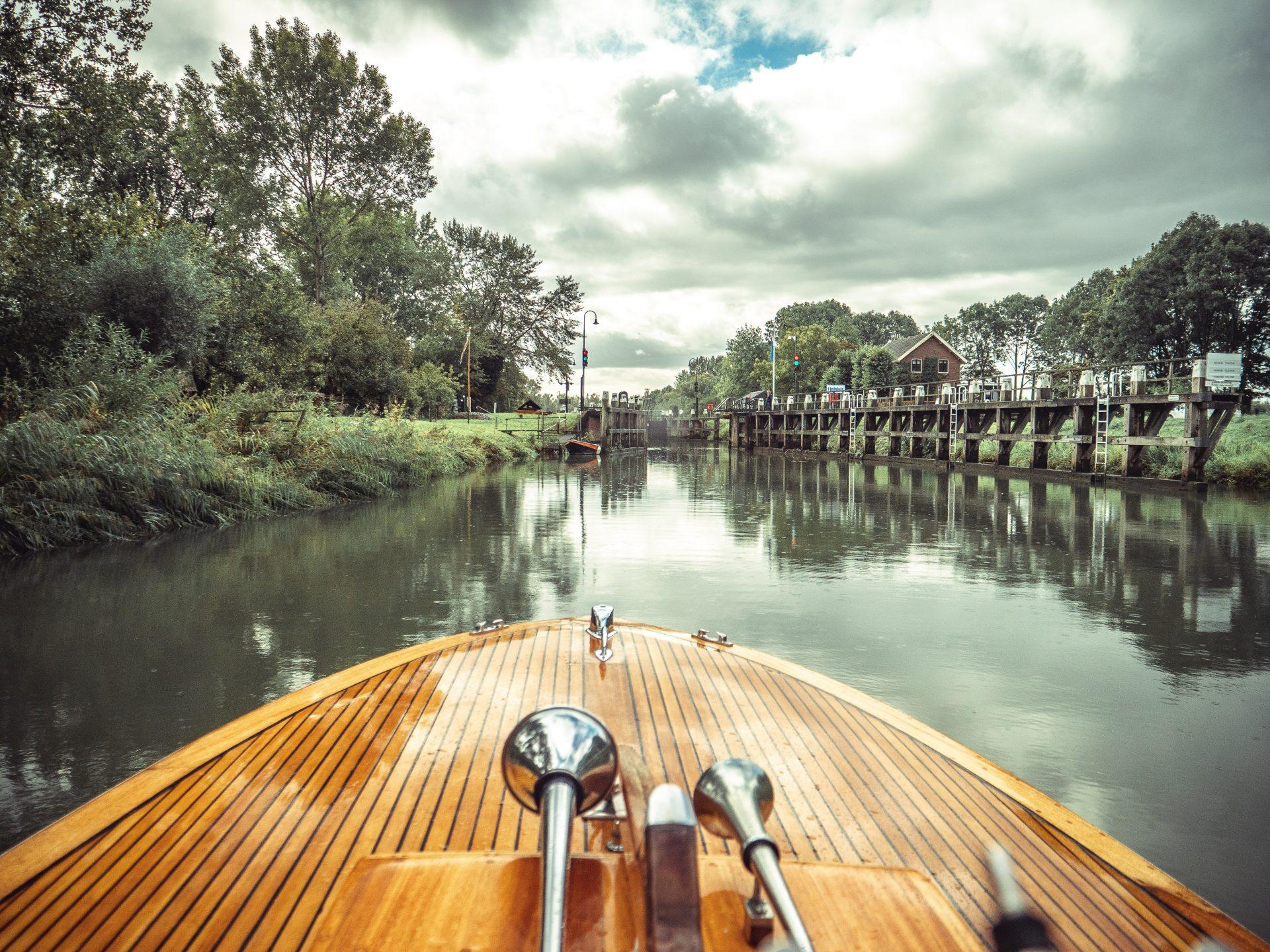 parc national de Biesbosch près de Dordrecht en Hollande