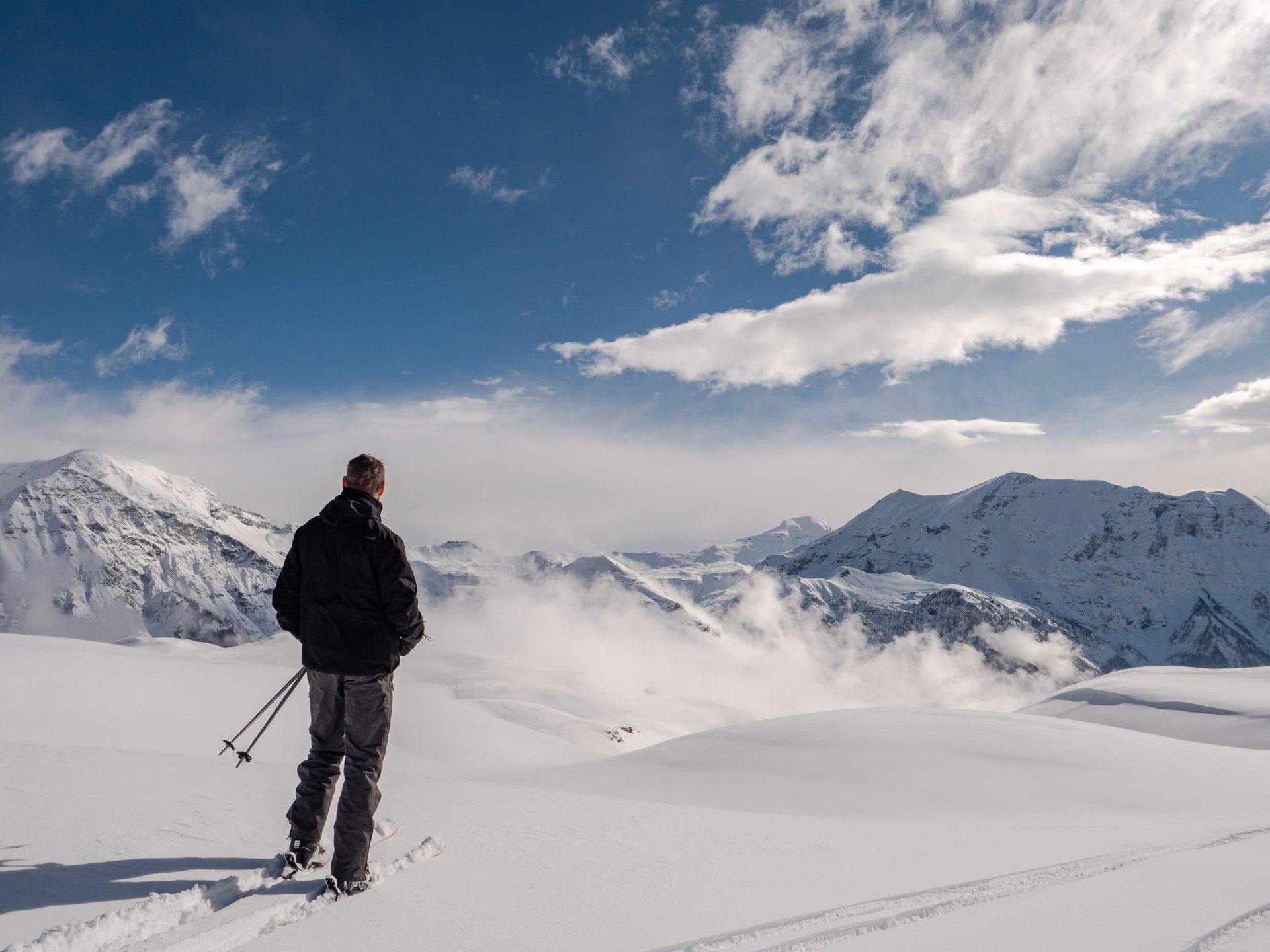 ski à orcières merlette 1850