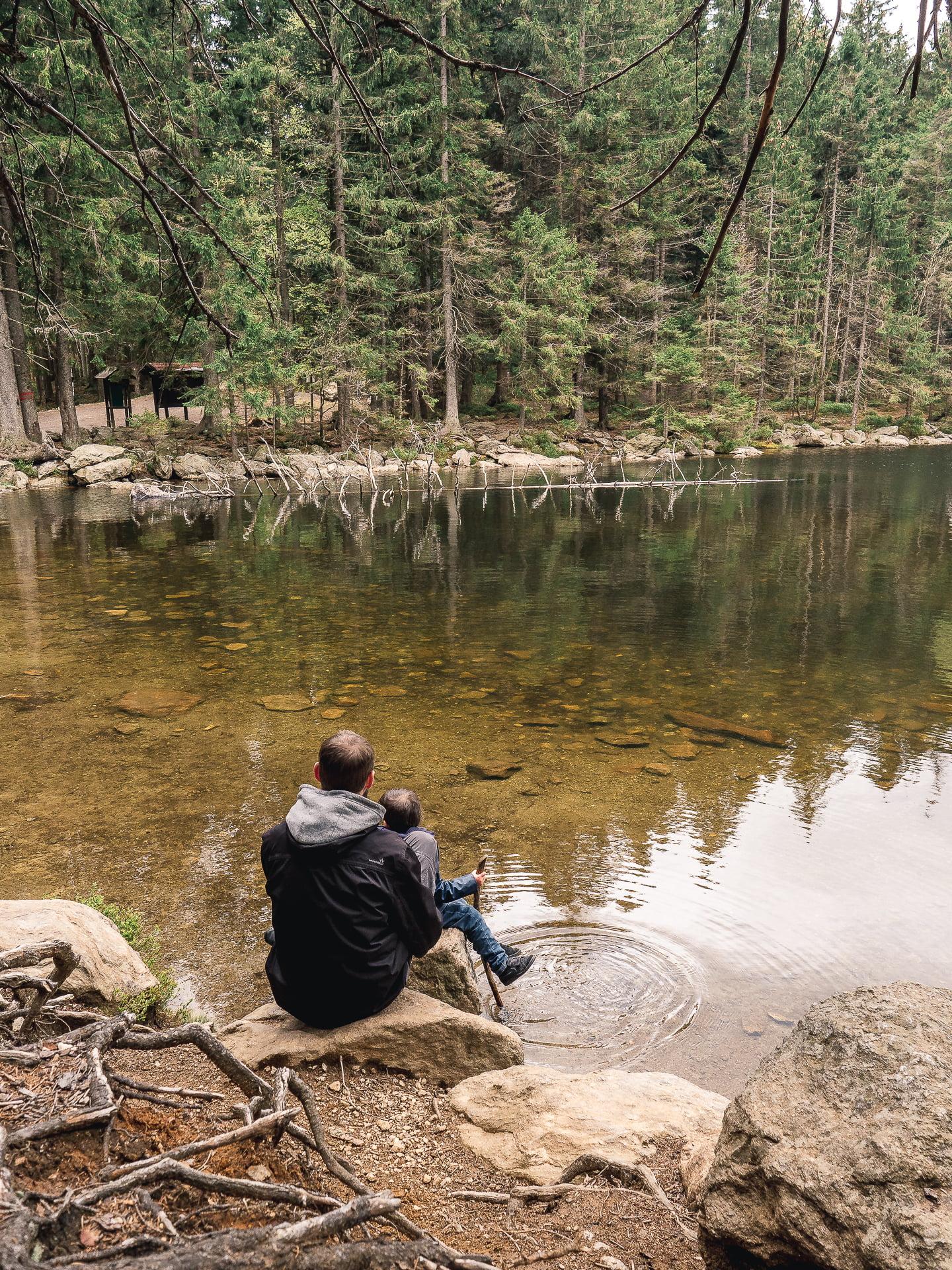 lac Čertovo jezero sumava