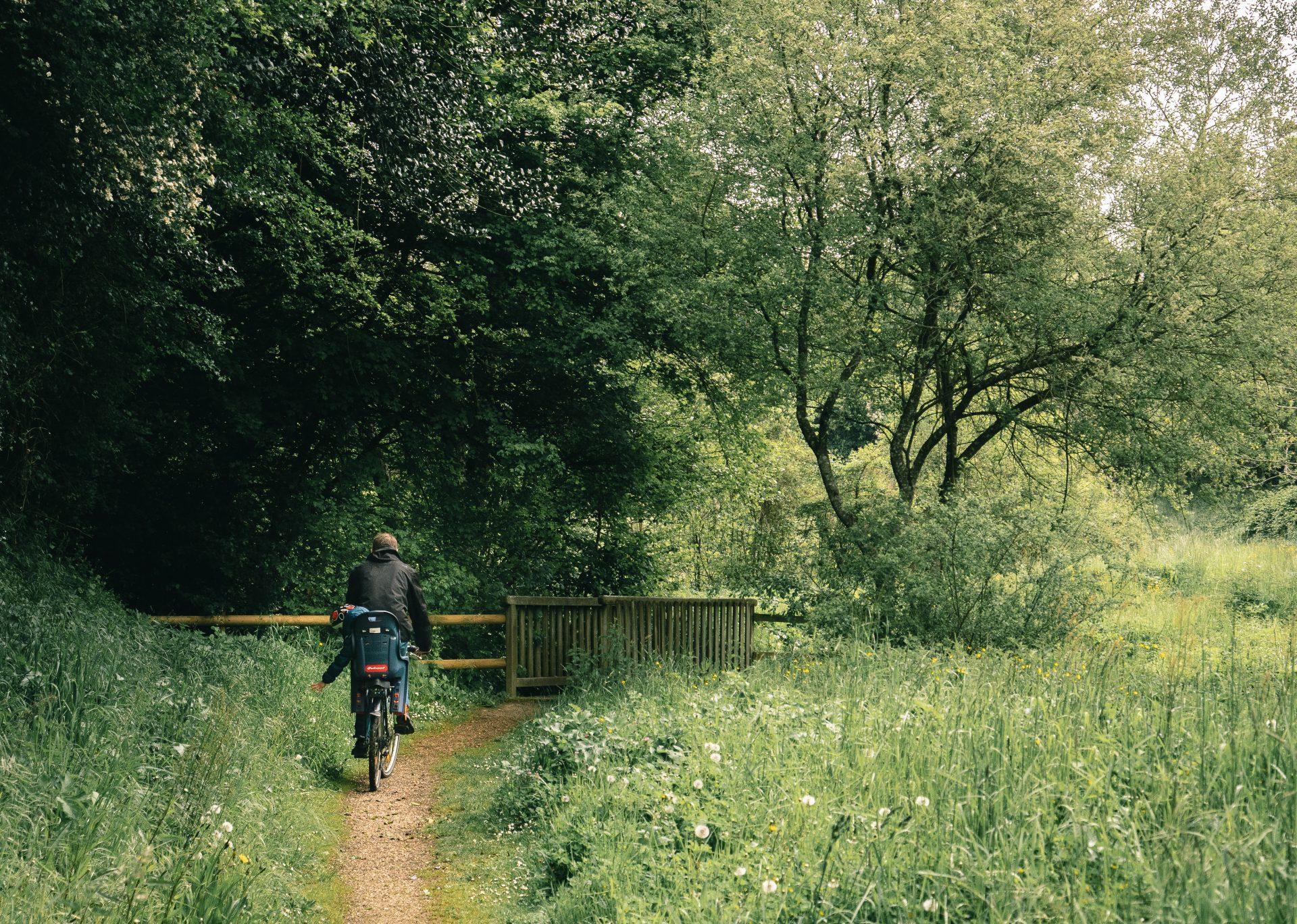 Balade en vélo à juigné - terre activ