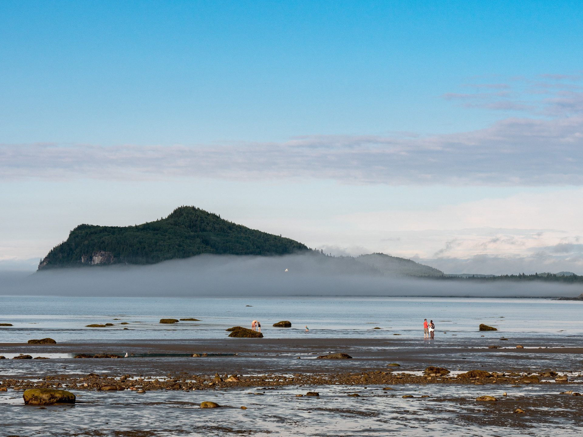 îlot parc du Bic Gaspésie