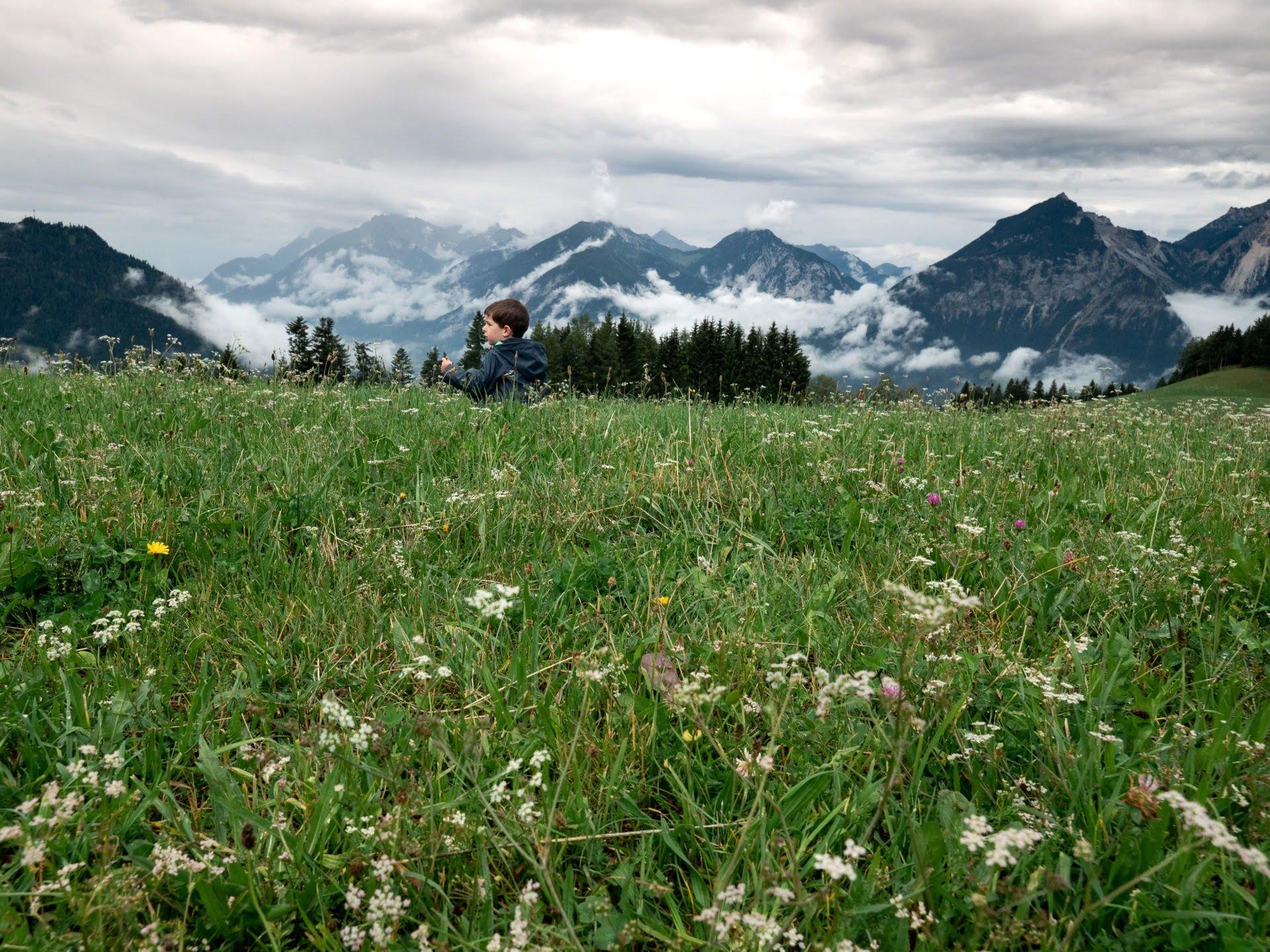 Panorama Reith Kogel alpbachtal
