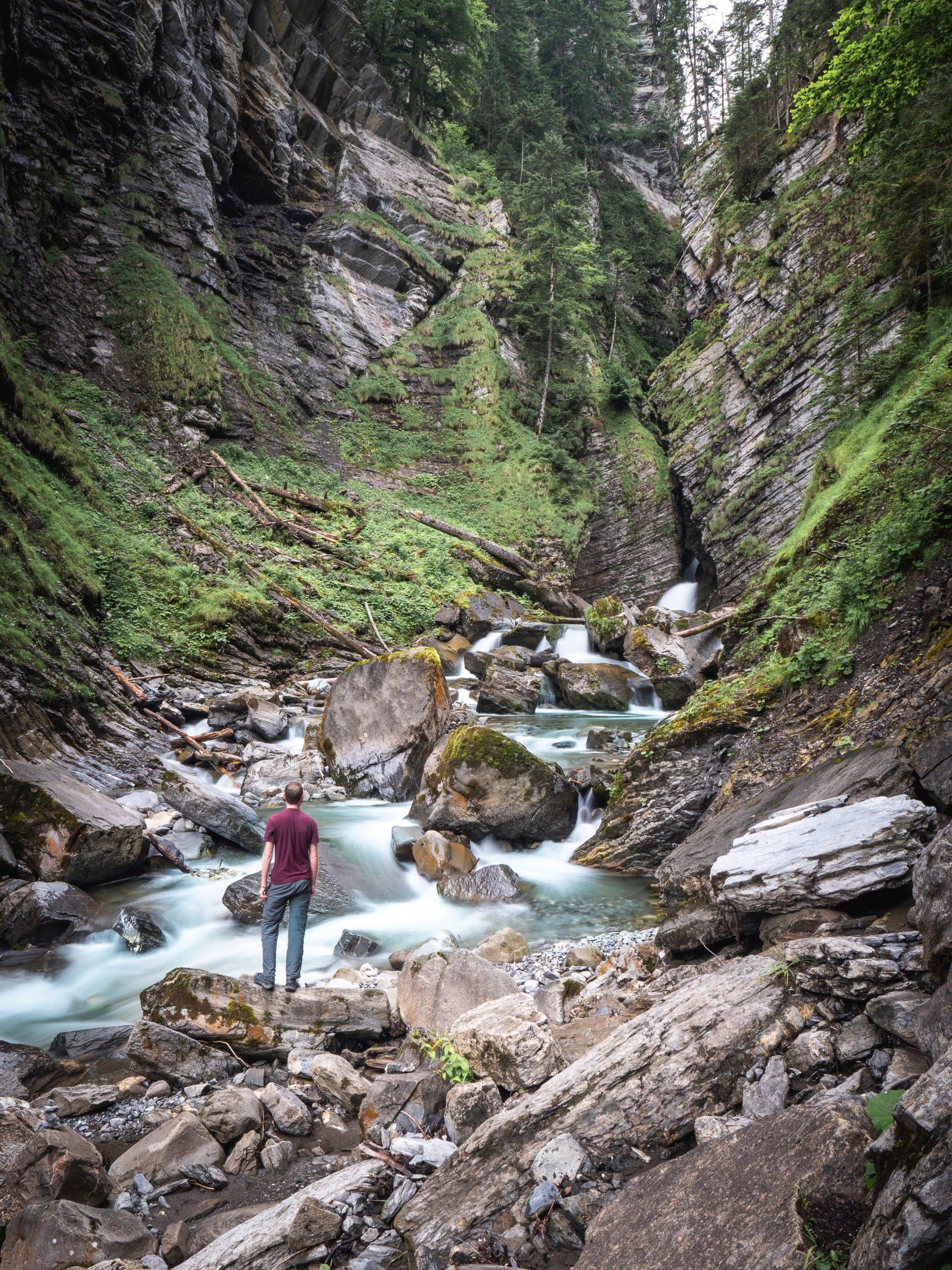 bregenzerwald au vorarlberg autriche cascade