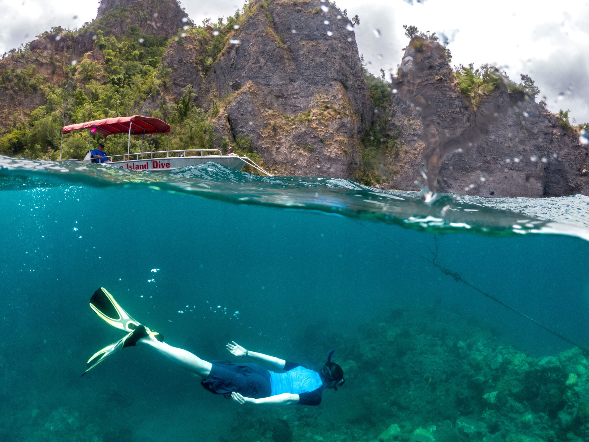 souffriere snorkeling dominica