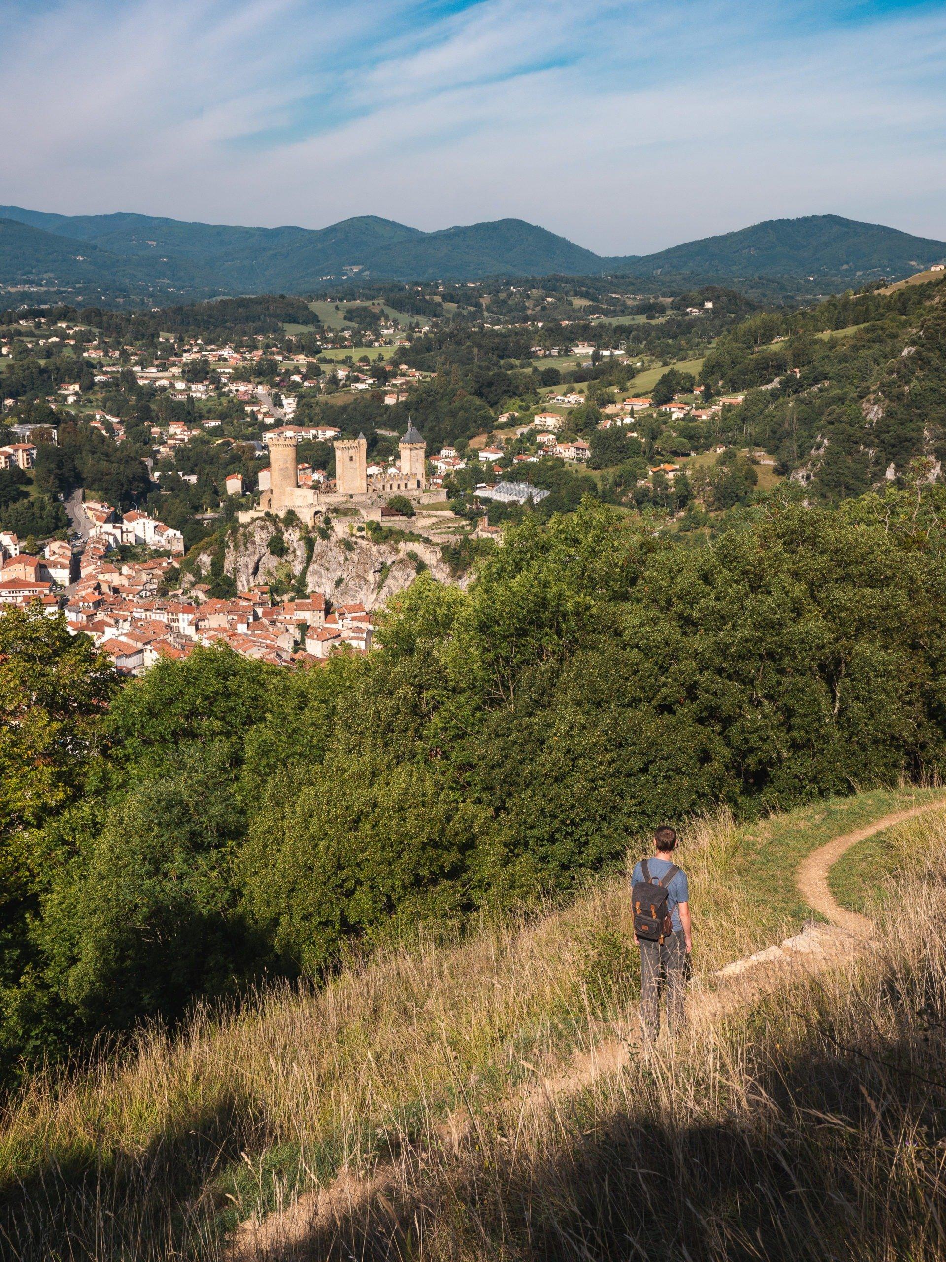 Terrasses du pech Foix
