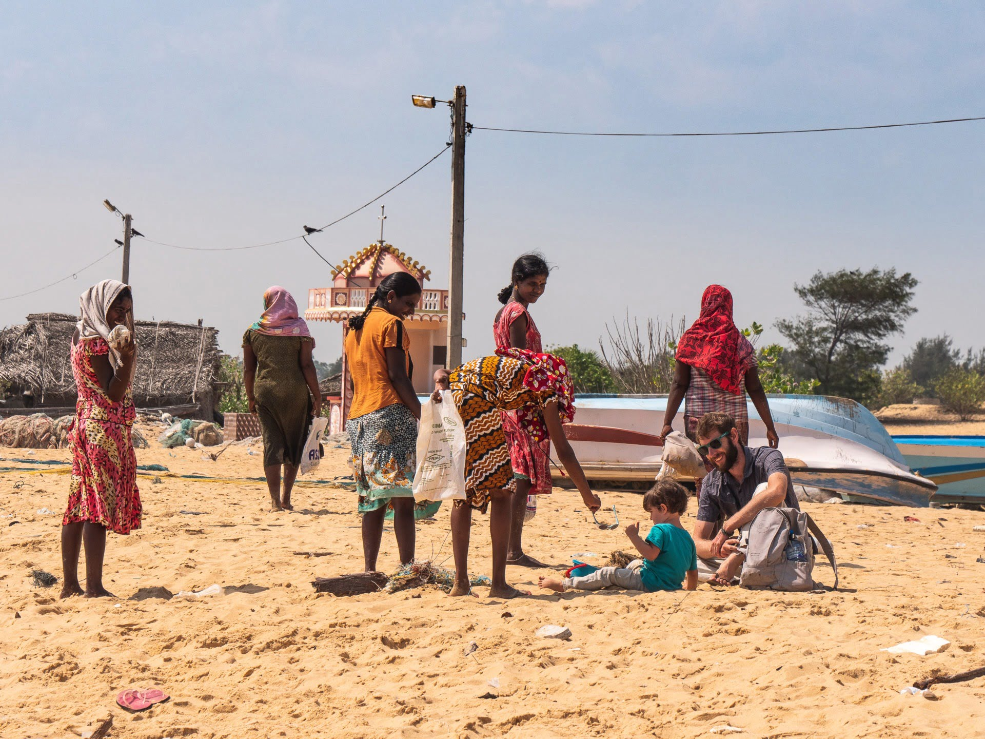 jaffna beach manalkadu
