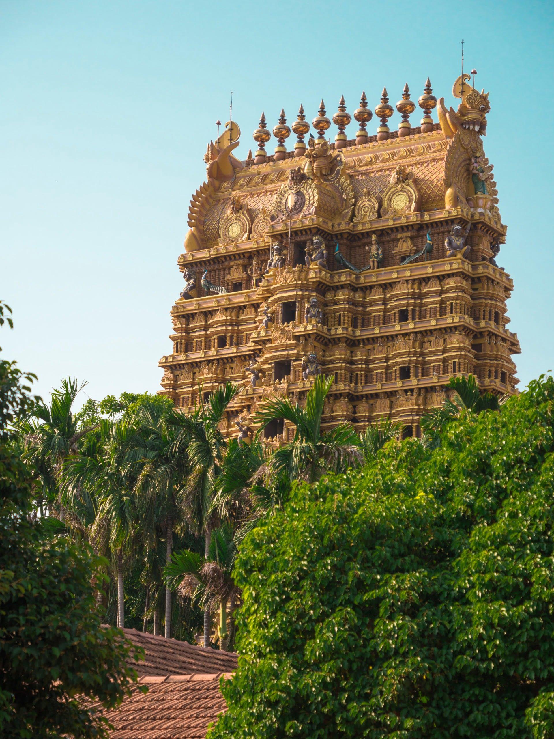 temple Nallur Kandaswamy Kovi jaffna