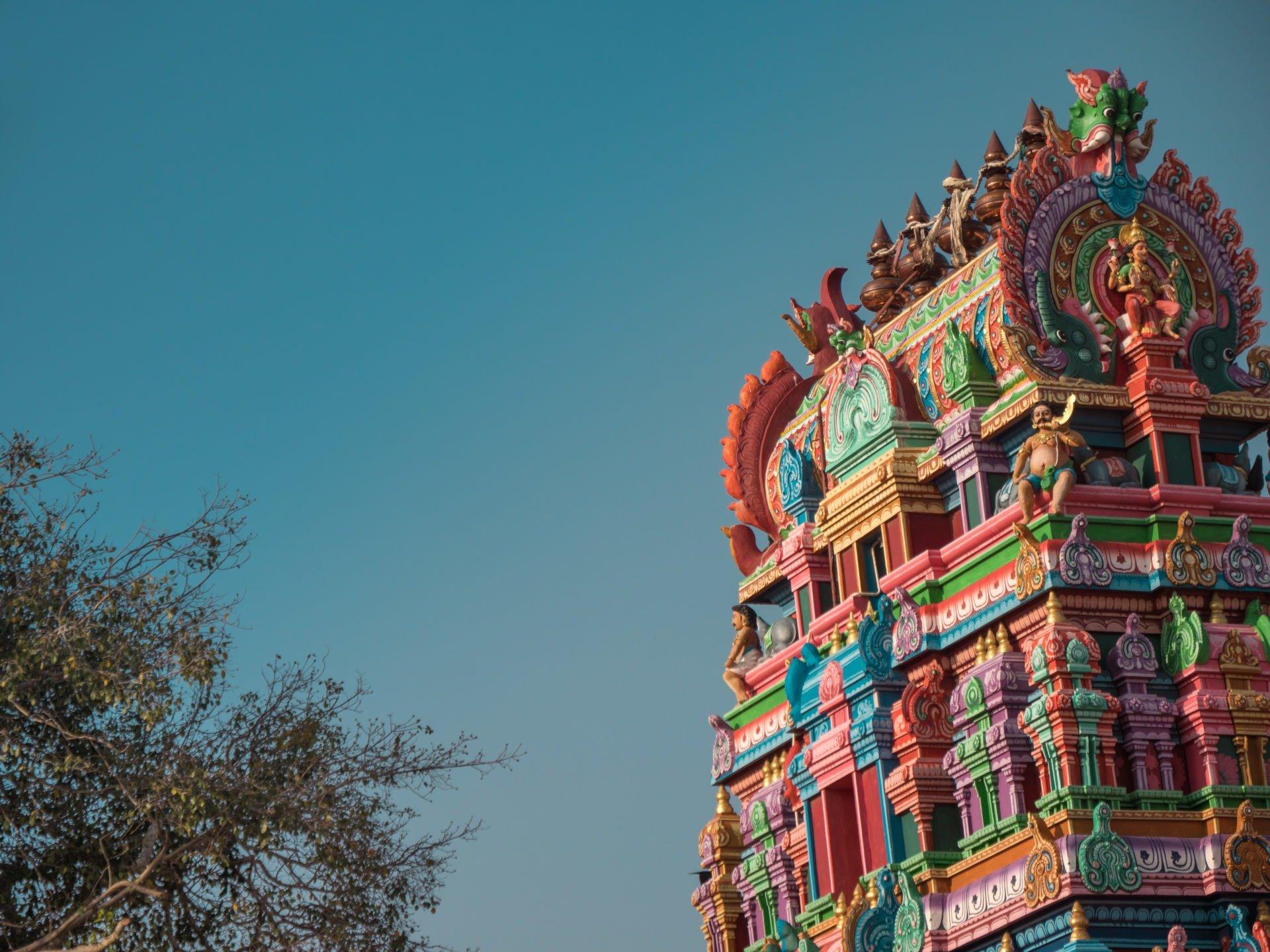 jaffna temple 3 - Les globe blogueurs - blog voyage nature