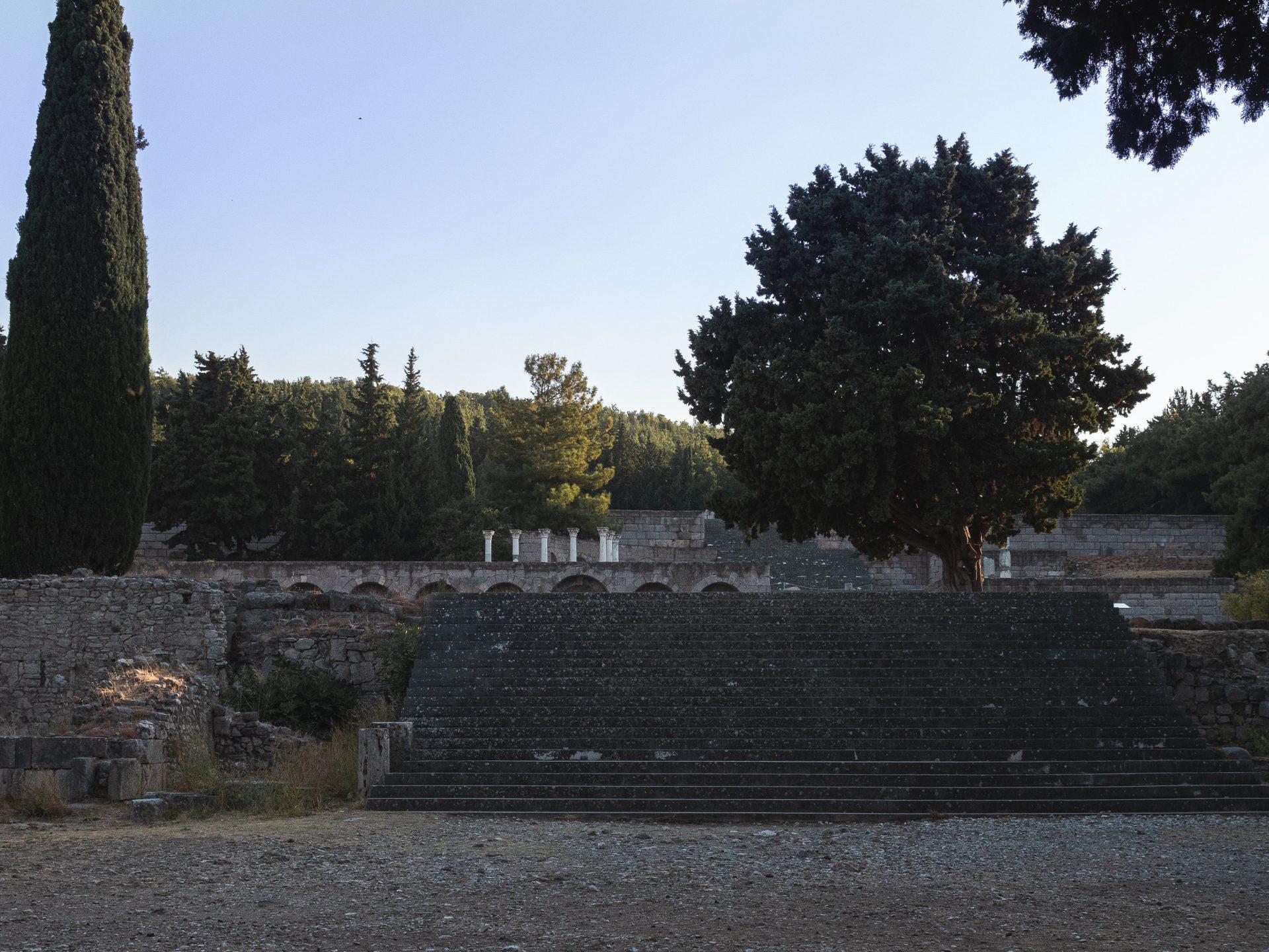 site d'Asclépiéion à Kos
