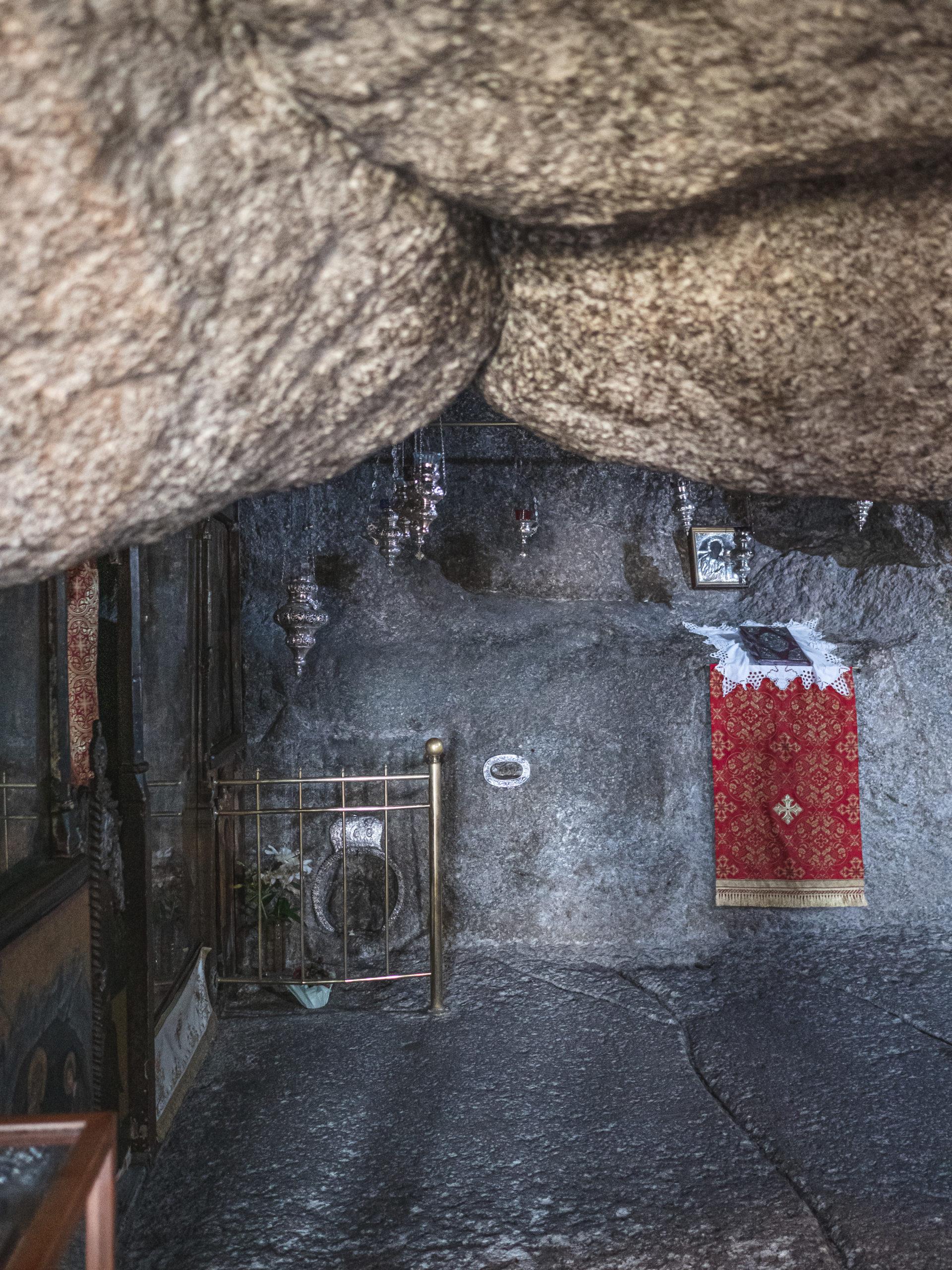 grotte de l'apocalypse patmos